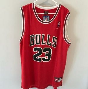 Nike XXL Michael Jordan 23 Bulls Red Jersey New